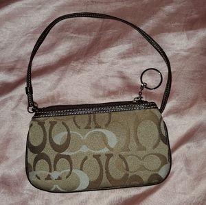 Coach pochette purse